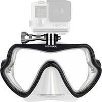 OCTOMASK Frameless Scuba Mask for GoPro Camera (Clear подводная маска для GoPro