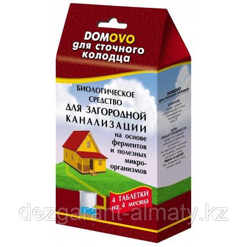 Биоактиватор для септика DOMOVO (4 таблетки по 12 г)