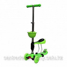 Самокат Scooter OK Tolocar (Green)