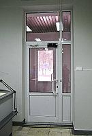 Дверь алюминиевая одностворчатая, фото 1