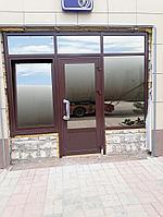 Алюминиевые двери теплые, фото 1