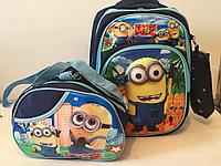 Школьный рюкзак для мальчика с 1-го по 3-й класс.Высота 38см,длина 27см,ширина 16см., фото 1