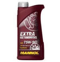 Трансмиссионное масло MANNOL Extra GL-5 75W90 1 литр