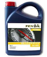 TEX-OIL 5W-40 API SL/CF PLATINUM - 5 литр