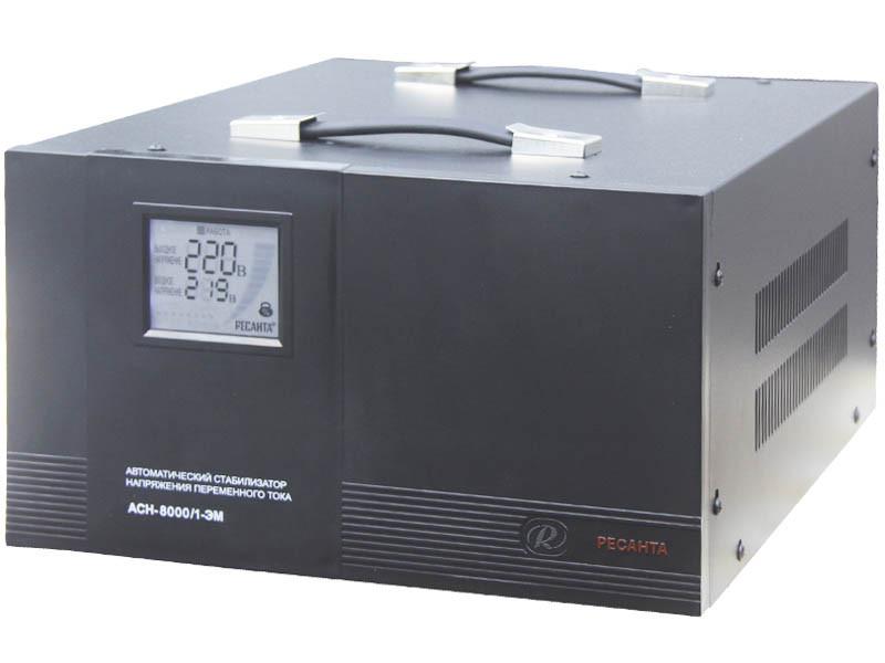 Стабилизатор напряжения Ресанта  ACH-8000/1-ЭМ (электромеханический)