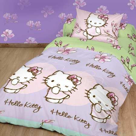 "Постельное белье ""Hello Kitty"""