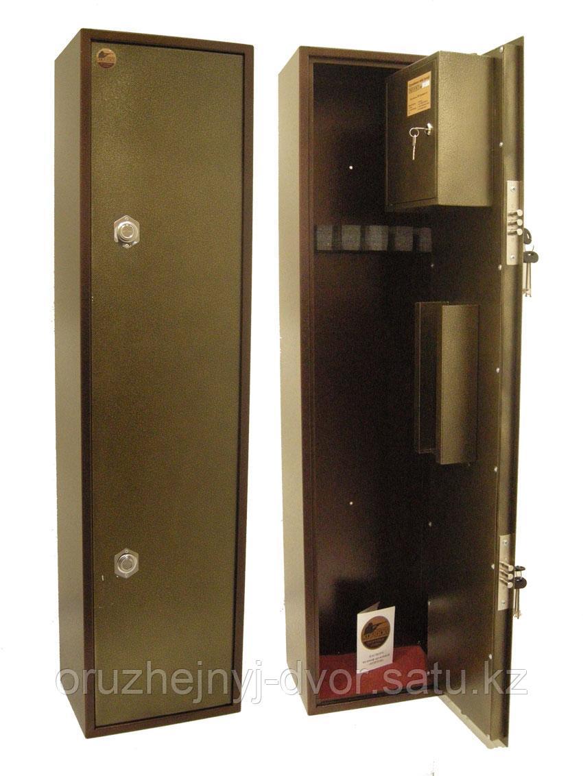 Сейф оружейный КОРДОН К11, 1150х250х220 (К-во оруж-3) (Тол.мм.2-3) (25кг)