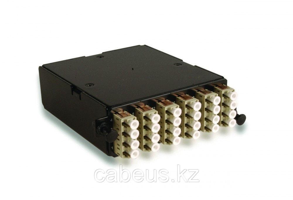 Siemon PPM-24-LC5V-01 Волоконно-оптическая кассета высокой плотности, LC- MTP, 24 волокна, OM4, XGLO, черная