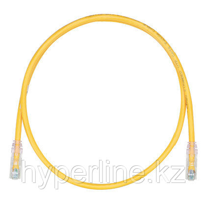 PANDUIT UTPSP20MYLY Патч-корд TX6 PLUS UTP, Cat.6, с модульными разъёмами TX6 на обоих концах, 20 м, желтый