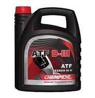 Трансмиссионное масло CHEMPIOIL ATF DIII 4 литра