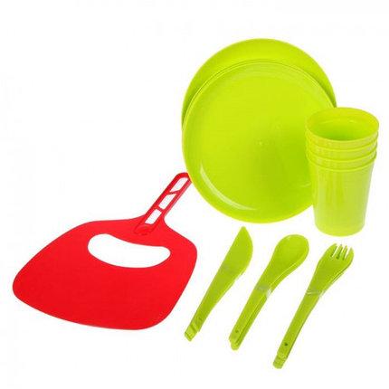 Мини-набор для пикника и барбекю на 4 персоны  + подарок, фото 2