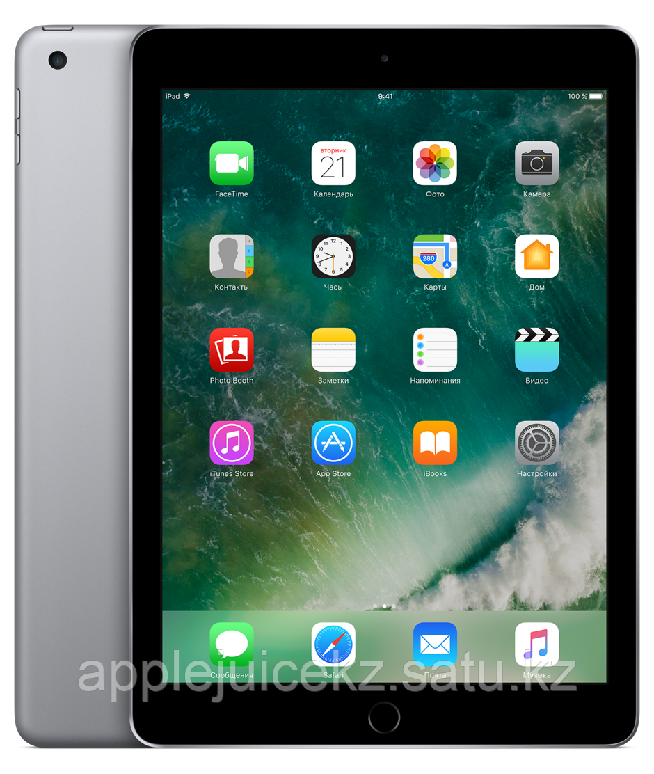 IPad, Wi-Fi + Cellular, 128Gb Space Gray