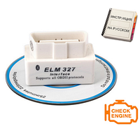 Автосканер ELM327 OBD2 Bluetooth
