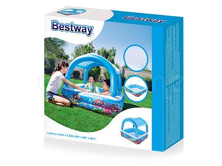 Надувной крытый бассейн для детей Bestwey 52192 (Габариты: 147 х 122 см), фото 2