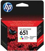 HP 651 Tri-color Ink Cartridge for DeskJet  IA5645 и IA5575, 300 pages
