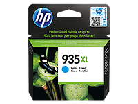 Cyan Ink Cartridge №935XL for Officejet Pro 6230/6830, up to 825 pages.