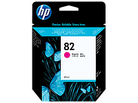 Magenta Ink Cartridge №82 for DesignJet 500/800, 69 ml, up to 1750 pages, 5%.