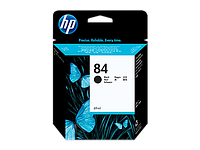 Black Ink Cartridge №84 for DesingJet 130/10ps/20ps/50ps, 69 ml.