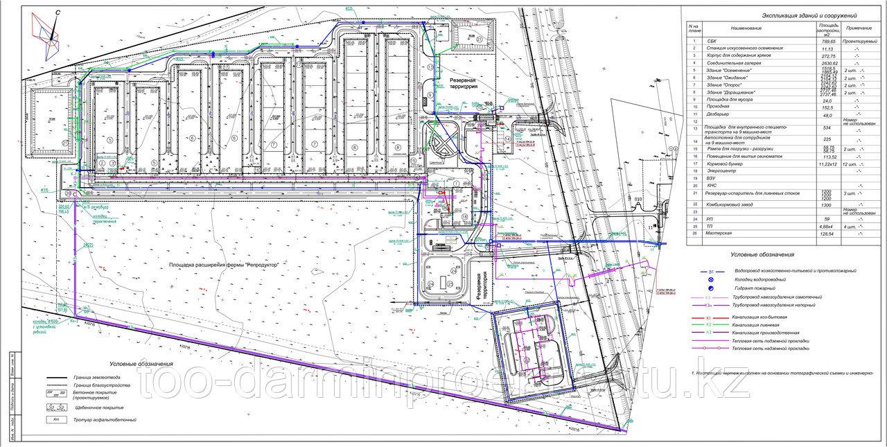 Проектирование инженерных сетей
