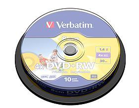 DVD+RW 1.4GB 8cm Verbatim Printable