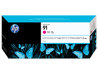 HP 91 775-ml Magenta DesignJet Pigment Ink Cartridge