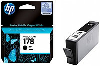 Black Ink Cartridge №178 for PhotoSmart C6383/8553/D5463/C5383, up to 250 pages.