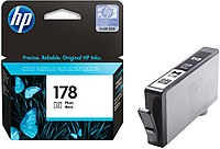 Photo Black Ink Cartridge №178 for PhotoSmart C6383/8553/D5463/C5383, up to 250 pages.