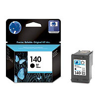 Black Inkjet Print Cartridge №140 for PhotoSmart C4283/C5283/D5363/J5783/D4263, 4.5 ml, up to 200 pages.