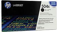 Black Print Cartridge for Color LaserJet CM3530/fs/CP3525dn/n/x, up to 10500 pages.