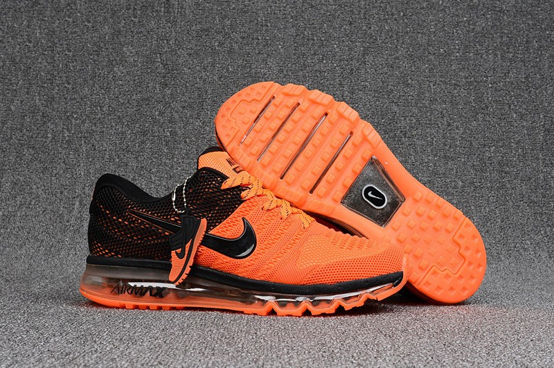 "Кроссовки Nike Air Max 2017 KPU ""Black Orange"" (40-47)"