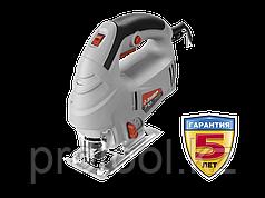 Лобзик электрический (электролобзик), ЗУБР Л-710-80, 3-х позиционный маятниковый ход, 0–3000 ходов/мин, сталь:
