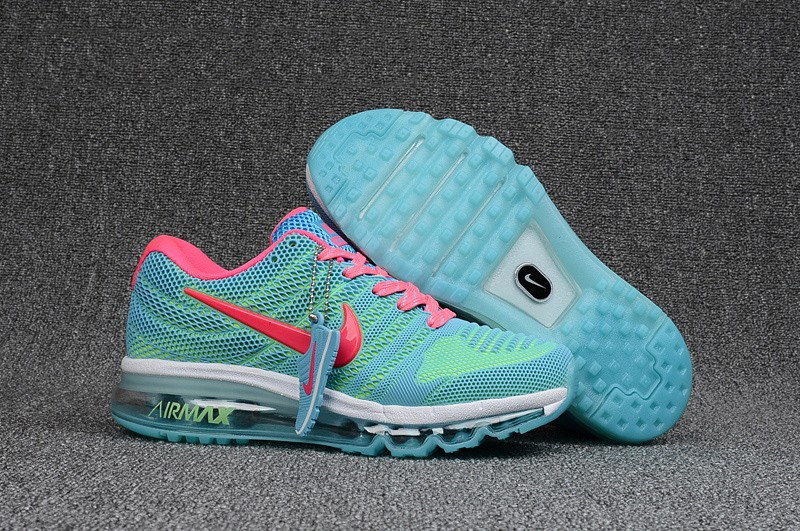 "Кроссовки Nike Air Max 2017 KPU ""Green Blue Pink"" (36-40)"