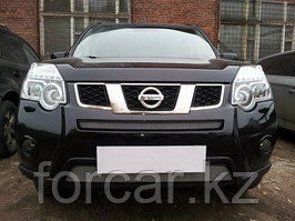 Защита радиатора Nissan X-Trail  2011- chrome низ