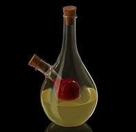 """Бутыль для соусов и масла 2 в 1 """"Фьюжн. Сфера"""": ёмкости 450 мл, 50 мл"""