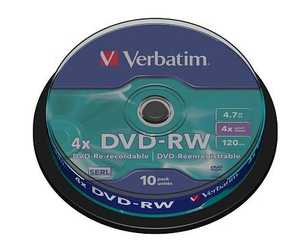 DVD-RW SP-010 4X Verbatim, фото 2