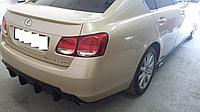 Спойлер на крышку багажника Lexus GS (190), фото 1