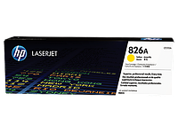 826A Yellow Toner Cartridge for Color LaserJet M855dn/x+/xh, up to 31500 pages.