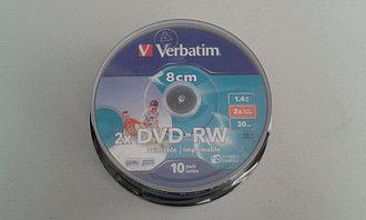 DVD-RW 1.4GB 8cm Verbatim Printable