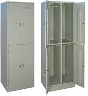 Шкаф металлический для одежды ШРМ - 24 (1860х600х500 мм)