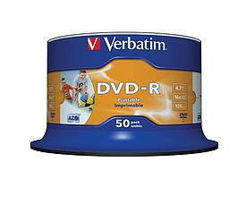 DVD-R 4.7GB Verbatim Printable, фото 3
