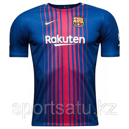 Футбольная форма Барселона сезона 2017-18 домашняя