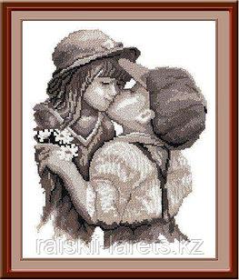 """Набор для вышивания крестиком """"Поцелуй"""" 260"""