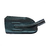 Лопата совковая, с ребром жесткости, рельсовая сталь, без черенка, СИБРТЕХ, 61471