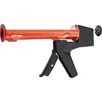 """Пистолет для герметика, 310 мл, """"полуоткрытый"""", противовес, круглый шток 8 мм// MATRIX"""