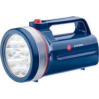 Фонарь поисковый светодиодный, 12Led, пластиковый корпус, 30 часов непрерывной работы, 4хLR20, Stern, 90530