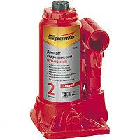 Домкрат гидравлический бутылочный, 2 т, h подъема 150–280 мм SPARTA Compact 50331