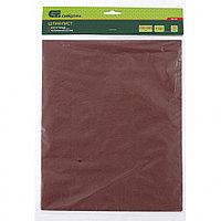 Шлифлист на бумажной основе, P 100, 230 х 280 мм, 10 шт., влагостойкий// СИБРТЕХ