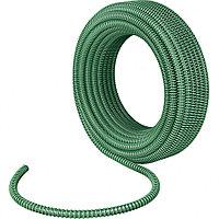 Спиральный шланг армированный напорно-всасывающий, диаметр 32 мм, 10 атм., длина 15 метров, Сибртех, 67340