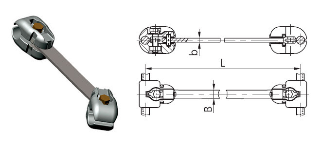 Распорка РГУ-4-500