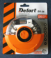 Набор бит DEFORT DS-26
